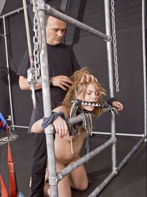 BDSM games turn youthful man on so that soon foreplay turns into fucking