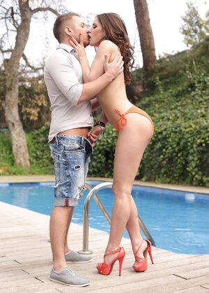 Adore and Russian metrosexual have a crush on each other and bang poolside