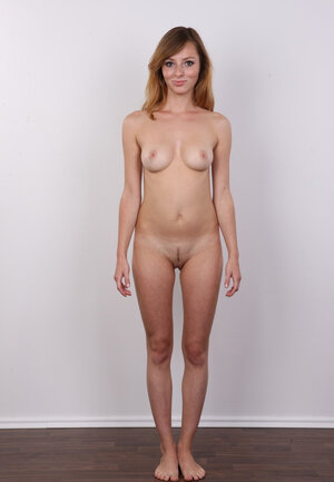 Sultry enjoy with red hair got a new pubic topiary and came to show it